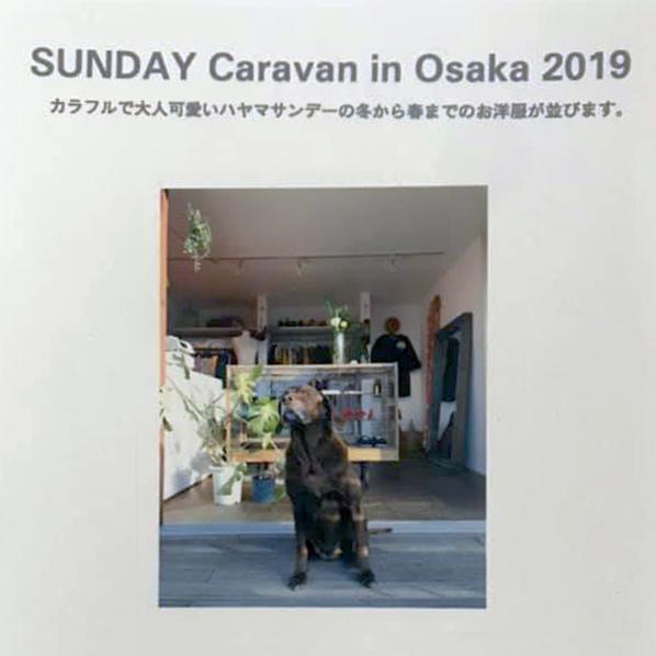 SUNDAY Caravan in Osaka